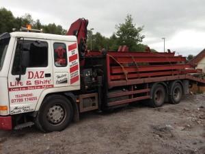 crane hire South Wales