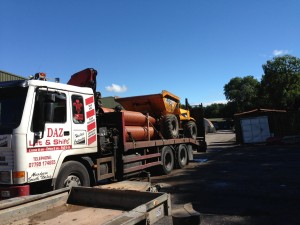 low loader trailer UK