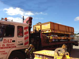 low loader transport UK